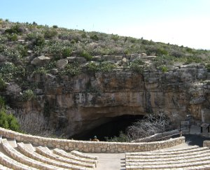 Entrance to Carlsbad Caverns