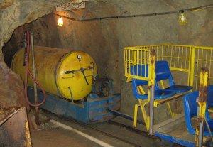 Underground Air Locomotive