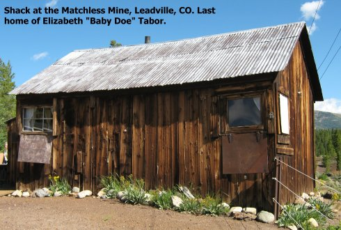Matchless Mine Shack