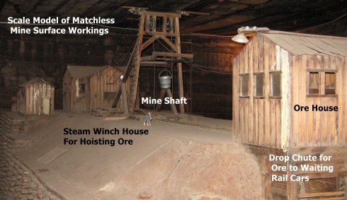 Matchless Mine Surface Workings