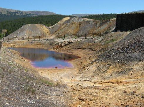 Mine Waste, Leadville Mining District August 2009