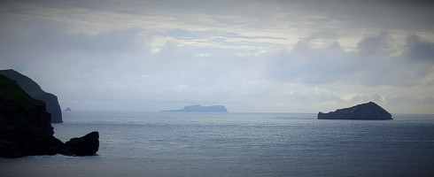 Center, The island of Surtsey in the Westman Islands, Iceland.